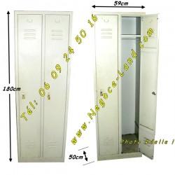 Negoce armoire vestiaire m tallique - Armoire metallique industrielle occasion ...