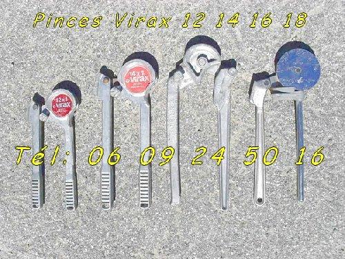 Image Lots de 4 Pinces à Cintrer Virax, Tél: 06 09 24 50 16 [Petites annonces Negoce-Land.com]