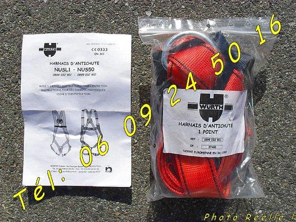 Image Portes outils PRO + harnais + cordes (quasi neuf) [Petites annonces Negoce-Land.com]