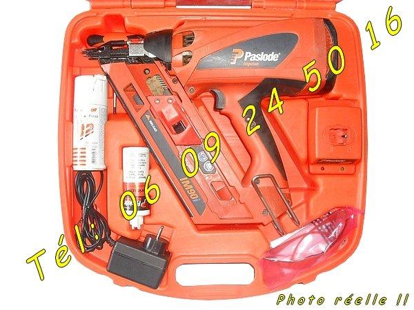 Image Cloueur Automatique Spit Paslode IM90i de charpentiers [Petites annonces Negoce-Land.com]