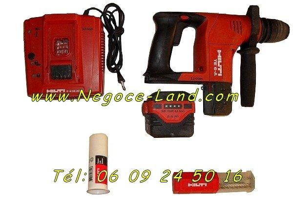 Perforateur hilti te 6 a li ion bonne occasion negoce land com - Perforateur hilti te 6 s prix ...