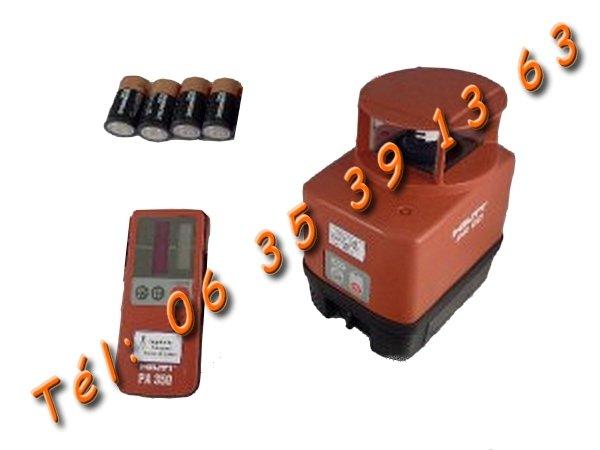 Image Niveau Laser Rotatif [ Hilti PR 60 ] [Petites annonces Negoce-Land.com]