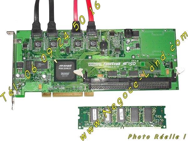 Image Carte contrôleur ATARAID5 Promise FastTrak S150 SX4-M [Petites annonces Negoce-Land.com]