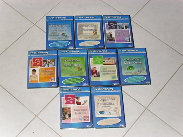 Image 9 CD-Rom de Formation sur PC et Logiciels [Petites annonces Negoce-Land.com]