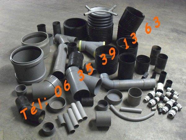 Image Lot de 600 PVC, PER, raccords, PE & divers neufs [Petites annonces Negoce-Land.com]