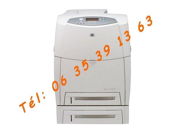 imprimante hp laserjet color 4650dtn recto verso lan usb2. Black Bedroom Furniture Sets. Home Design Ideas