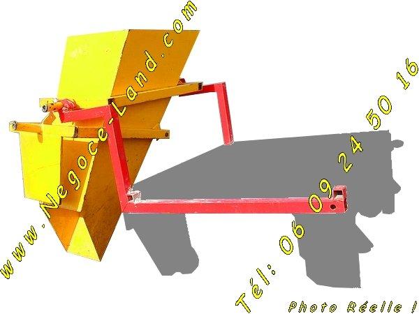 Image Kit benne maçon charge matériaux pour Monte tuile Altrad [Petites annonces Negoce-Land.com]