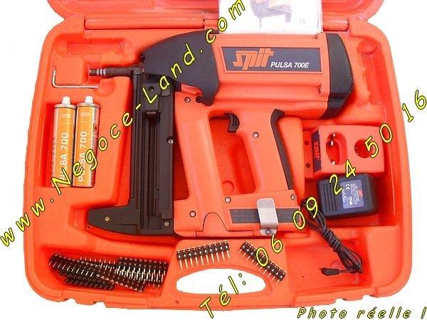 Image Cloueur à gaz Spit Paslode 700 E/P (Révisé) [Petites annonces Negoce-Land.com]