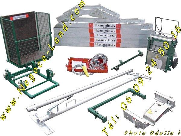 Image Monte matériaux charge et lève Tuiles Haemmerlin Maxial PRO MA 431 [Petites annonces Negoce-Land.com]