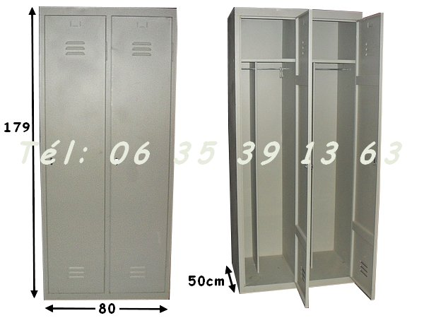 armoire vestiaire metallique occasion. Black Bedroom Furniture Sets. Home Design Ideas