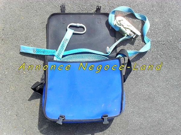 Image Ligne de vie mobile en sangle ANTEC intégré à son sac [Petites annonces Negoce-Land.com]