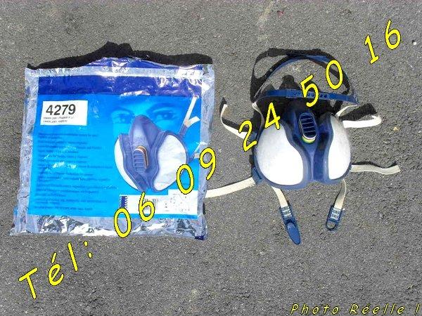 Image Masque 3M de protection respiratoire - Gants - Combinaison [Petites annonces Negoce-Land.com]