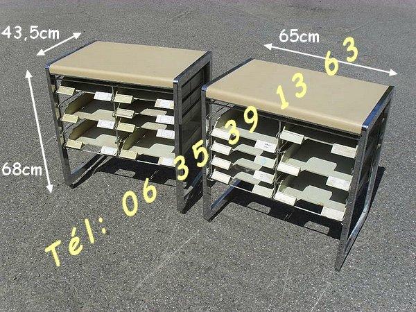 Image 2 Porte document Vintage 10 bacs rangements  [Petites annonces Negoce-Land.com]