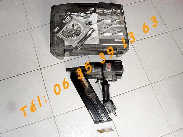 cloueur pneumatique professionnel senco framepro 651 50 100mm colomiers. Black Bedroom Furniture Sets. Home Design Ideas