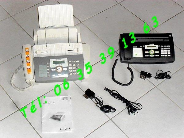 Image 2 Téléphone Fax Philips faxJet 525 - PPF 675 Magic 5 Eco [Petites annonces Negoce-Land.com]