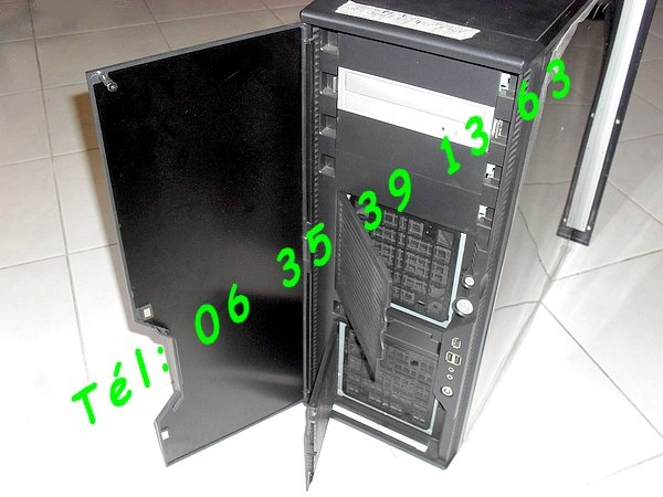 ordinateur tour pc serveur antec silencieux core 2 duo. Black Bedroom Furniture Sets. Home Design Ideas
