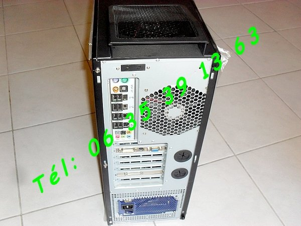 ordinateur tour pc serveur antec silencieux core 2 duo albi montauban auch. Black Bedroom Furniture Sets. Home Design Ideas