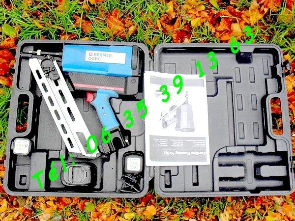 Image Cloueur à gaz Pro Berner (50-90mm) [Petites annonces Negoce-Land.com]
