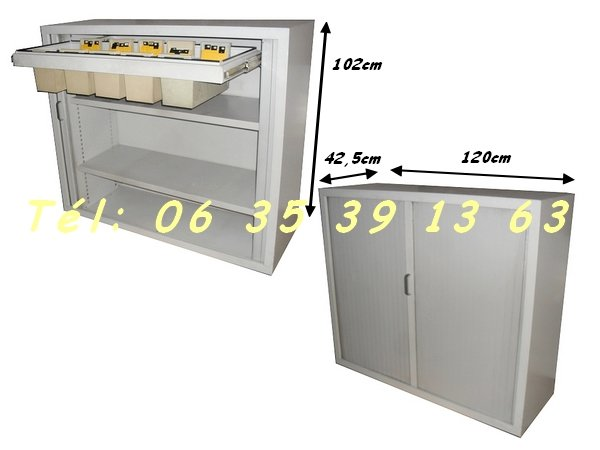 armoire m tallique basse 2 rideaux classement albi montauban auch. Black Bedroom Furniture Sets. Home Design Ideas