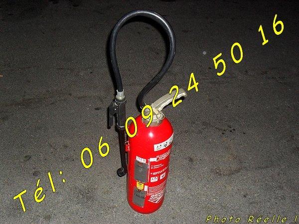 Image Extincteur AB 9L d'eau pulvérisée + additif [Petites annonces Negoce-Land.com]