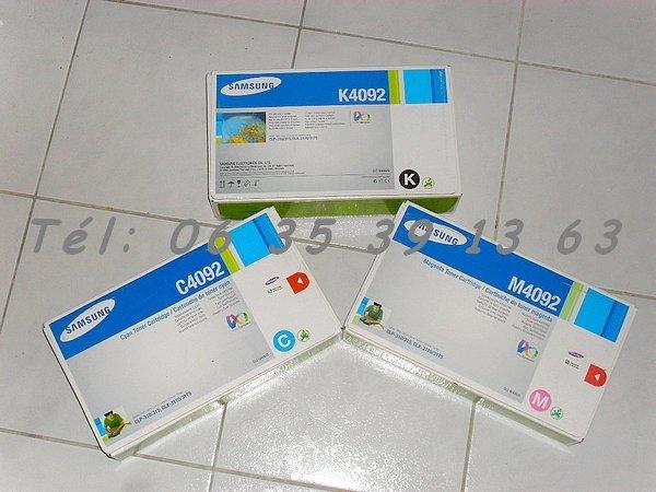 photo de 3 Toners Samsung CLT-C4092 CLT-M4092 CLT-K4092 (Neuf)  (Annonce Negoce-Land)