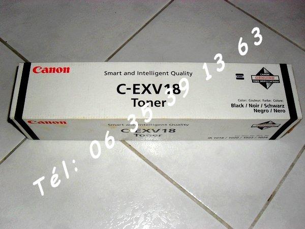 photo de Toner encre Canon C-EXV18 original (Neuf Prix Livré)  (Annonce Negoce-Land)