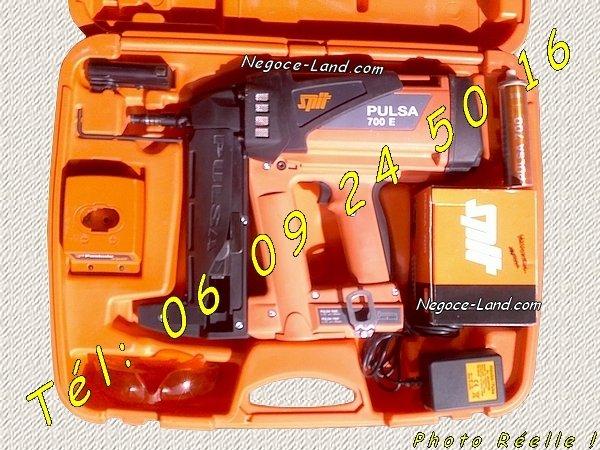 Image Cloueur à gaz Spit Pulsa 700E/P dernier modèle (Révisé) [Petites annonces Negoce-Land.com]