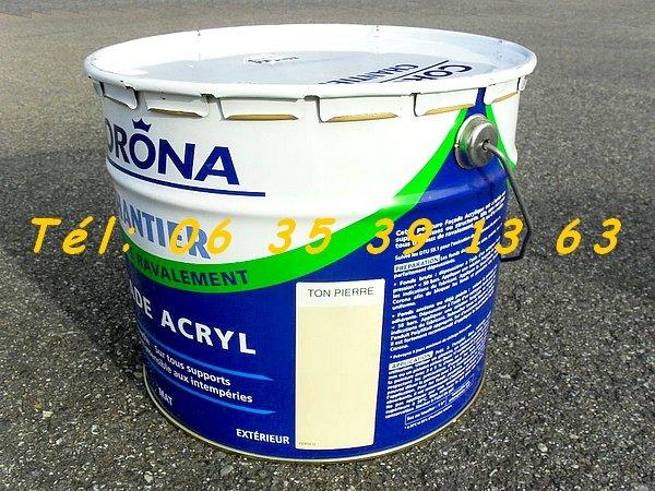 2 pots de peinture acrylique corona ton 10l 177 70m 178 neuf colomiers montauban auch