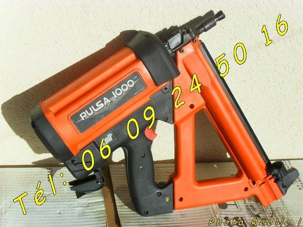Image Cloueur à gaz Spit Pulsa 1000 - 15 à 40mm (révisé) [Petites annonces Negoce-Land.com]
