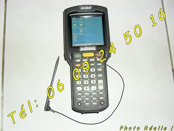 photo de Terminal Symbol MC3090 Motorola Code Barre tactile portable