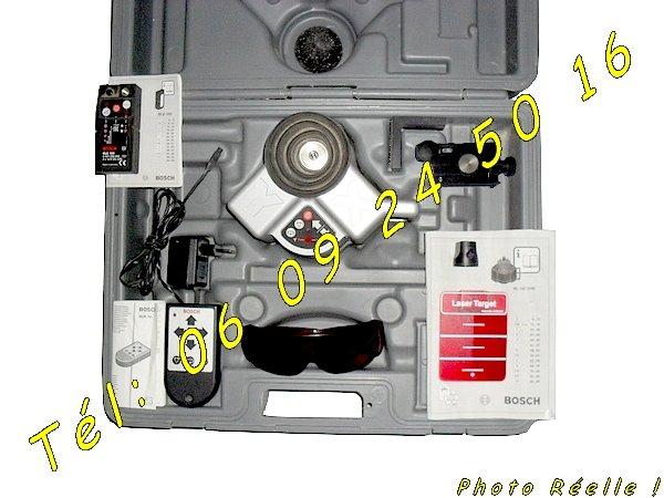 Niveau laser rotatif bosch bl 100 vhr automatique negoce land com - Niveau laser rotatif automatique ...
