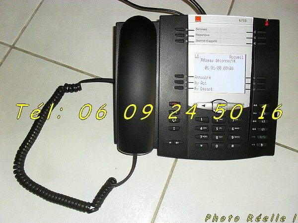 photo de Téléphone VoIP filaire Pro Aastra 6755i   (Annonce Negoce-Land)