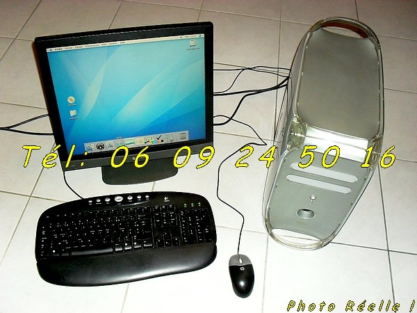 ordinateur apple mac powerpc g4 ecran 19 tft negoce land com. Black Bedroom Furniture Sets. Home Design Ideas