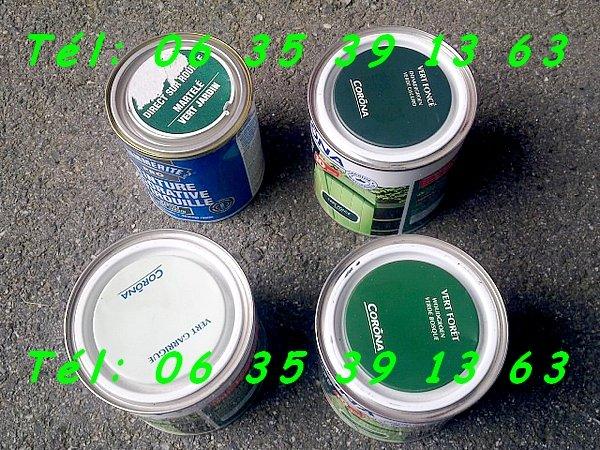 Image Peinture Corona Vert Garrige Jardin 0,5L ±7m² (neuve) [Petites annonces Negoce-Land.com]