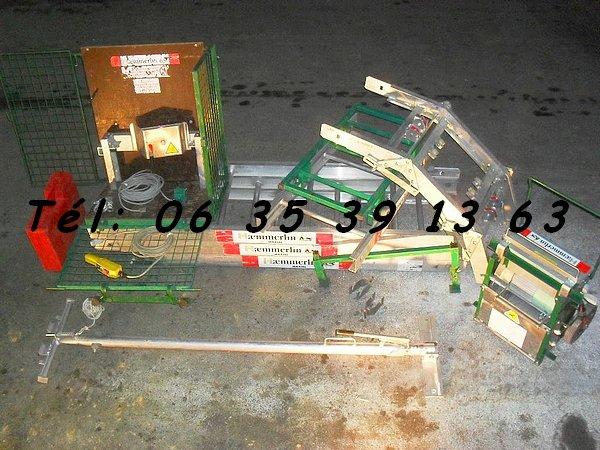 Image 2 Monte matériaux tuiles & lève charge Haemmerlin Maxial Pro 431 & 445 [Petites annonces Negoce-Land.com]