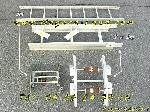 Genouillères + Echelles Alu Monte charge lève matériaux offre Levage - Manutention [Petites annonces Negoce-Land.com]