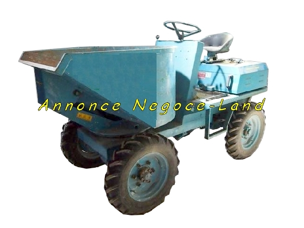 Image Dumper 4x4 Diesel Messersi porte charge 665L [Petites annonces Negoce-Land.com]
