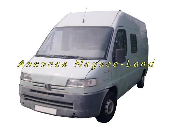 Image Peugeot Boxer - Diesel - 7 Places - 250000km - Rehaussé [Petites annonces Negoce-Land.com]