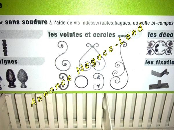 Image Accessoires fixation et déco + Portail fabrication pro artisanale [Petites annonces Negoce-Land.com]