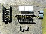 Image Lot Sabot Portail à sceller Inox Neuf [Petites annonces Negoce-Land.com]