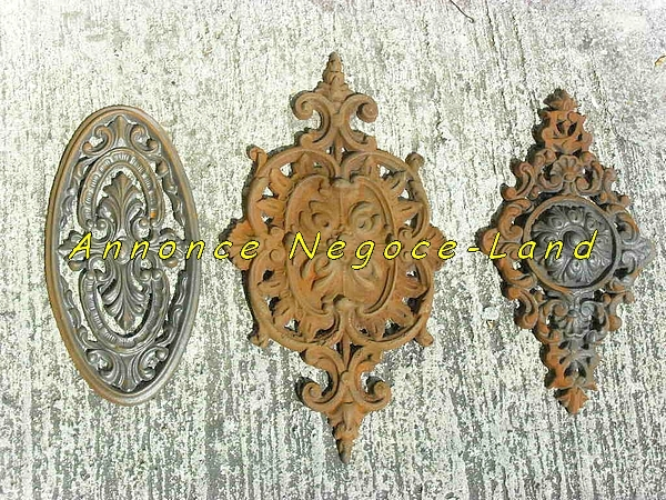 Palmettes de d coration pour grille de fen tre portail ou - Europe cloture materiaux ...