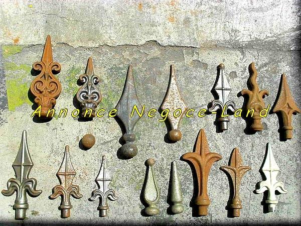 Image Pointes Flèche Lance de décoration pour grille de fenêtre portail ou clotures [Petites annonces Negoce-Land.com]