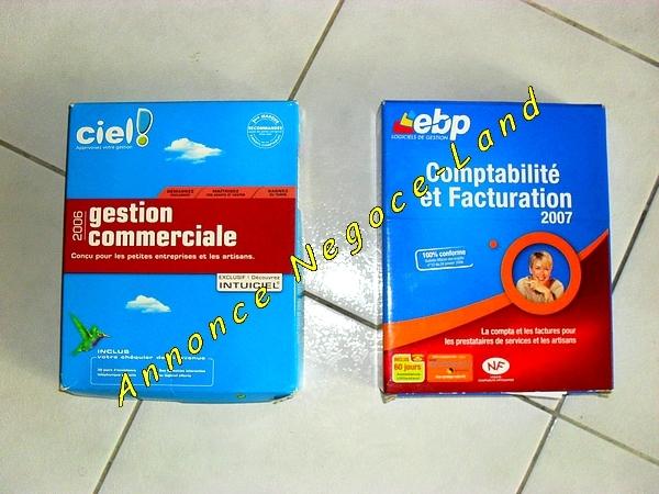 Image Ciel Gestion Commercial et EBP Comptabilité & Facturation [Petites annonces Negoce-Land.com]