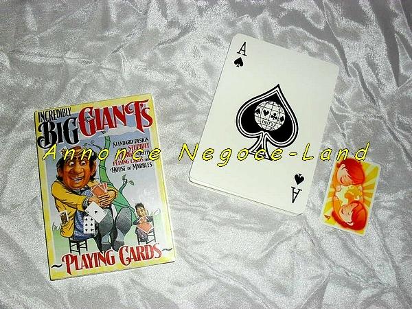 Jeux de 54 Grandes Cartes pour Geants (Neuf) [Petites annonces Negoce-Land.com]
