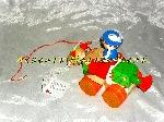 Image Mini Jouets Indien avec cheval à trainer bois Djeco (Neuf) [Petites annonces Negoce-Land.com]