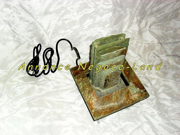 Image Fontaine Zen d'eau d'intérieure pierre en cascade [Petites annonces Negoce-Land.com]