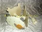 Image Lampe plafond en bois pour enfant Moutons Blancs [Petites annonces Negoce-Land.com]
