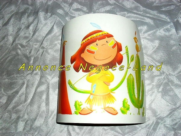 Image Applique pour enfant Petit Indien Titoutam [Petites annonces Negoce-Land.com]