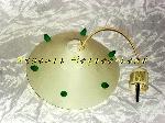 Lampe plafond Arditi couleur Ivoire et verte offre Décoration [Petites annonces Negoce-Land.com]