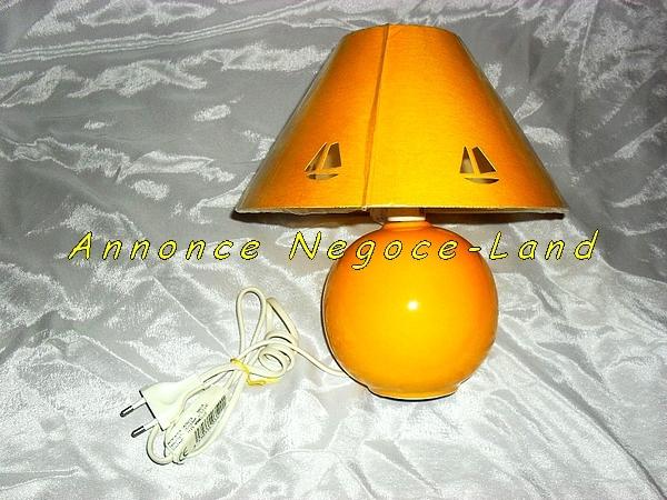 Picture Lampe de chevet céramique couleur Amarillo [Petites annonces Negoce-Land.com]